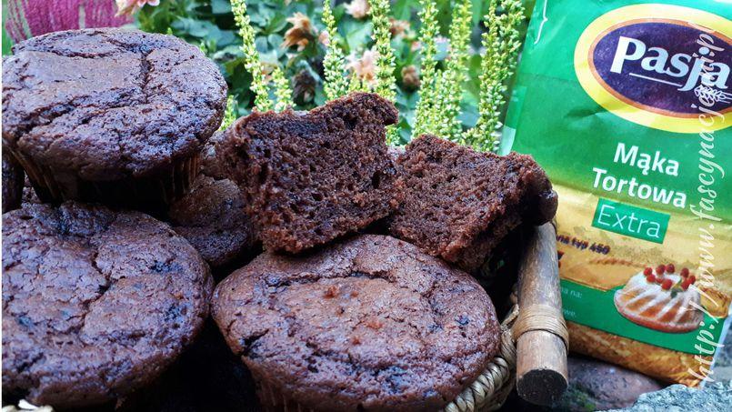 Muffiny kawowo-czekoladowe