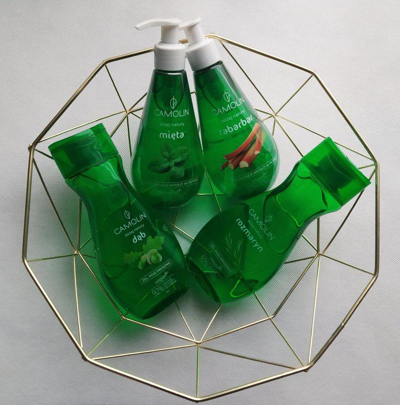 Kosmetyki wegańskie Camolin – ziołowy ogród w mojej łazience! Łagodny opatrunek i nawilżenie dla skóry.
