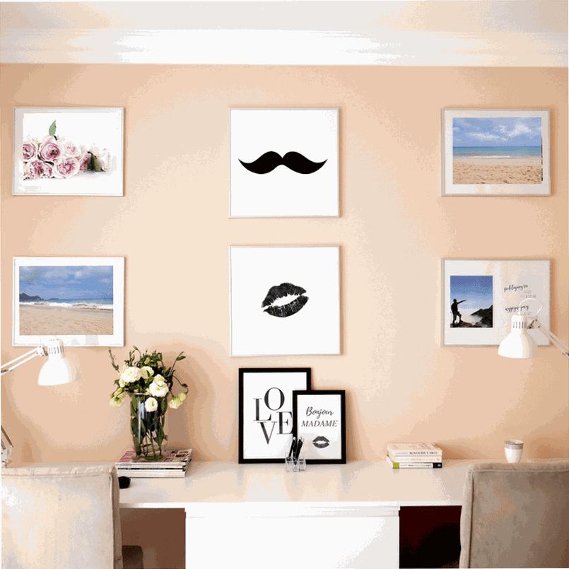 Jak szybko i łatwo zrobić galerię zdjęć na ścianie?