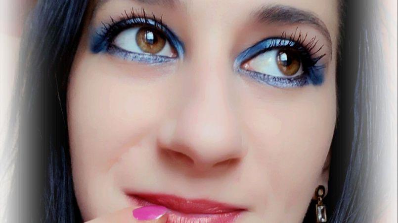 Karnawałowy makijaż z kosmetykami Delia Cosmetics #karnawalzdelia