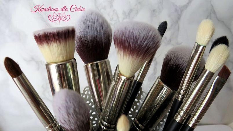 Hakuro:pędzle do makijażu - recenzja